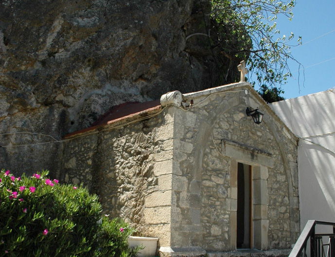 Monasteri of Panagia Exakousti in Malles (west of Anatoli)